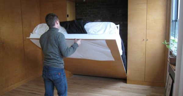 15 Hideaway Storage Ideas For Small Spaces Murphy Bed