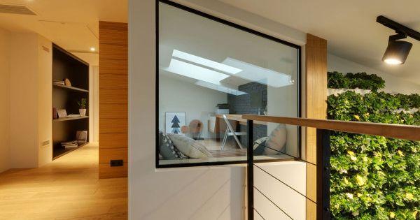 Un tobog n dentro de este apartamento fractal estudio - Estudios de diseno de interiores ...