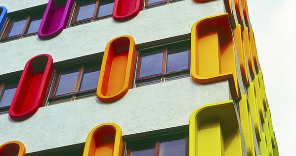 Colourful Architecture Photograph by Damian Furlong - Colourful Architecture Fine Art Prints