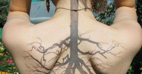 Tree tattoo design tattoo patterns| http://awesome-tattoo-pics.blogspot.com