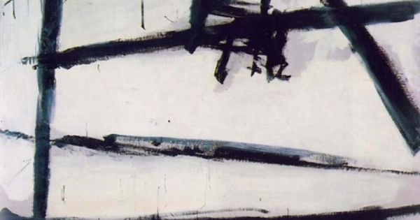 Painting Number 2 By Franz Kline Expressionismo Abstrato Franz Kline Action Painting