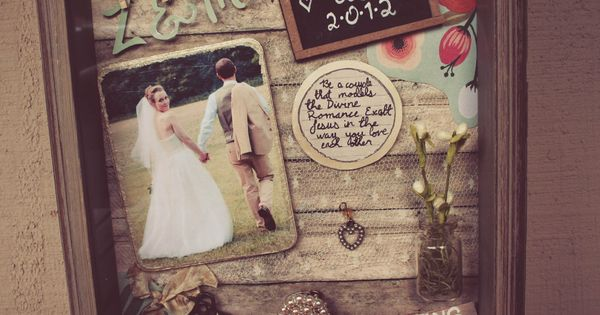large wedding shadowbox | Greetings! Today, I am going to share a