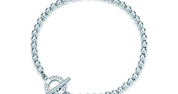 Tiffany Beads toggle bracelet in sterling silver, medium. | Tiffany Co.