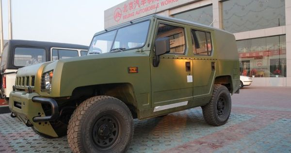 Meet The Chinese Military S New Jeep Military Jeep Jeep Military