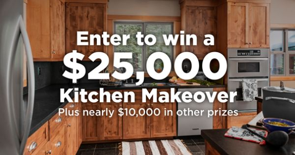 Enter To Win A Kitchen Makeover Plus Other Prizes