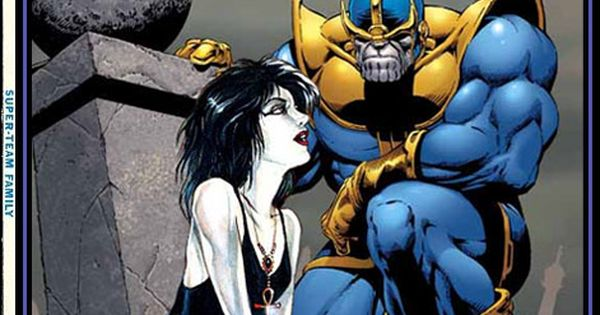 Thanos Family Problems: Thanos & Death Of The Endless