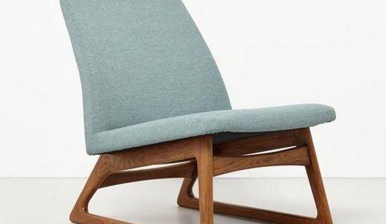 Eenvoudige designstoel met mooie vormen materialen en kleuren idee n voor het huis pinterest - Ideeen kleuren lounge ...