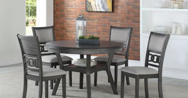 36+ Gia ebony counter height round table 5 piece dining set Tips