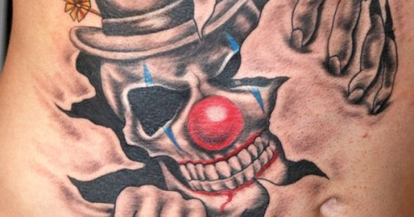 Clown Girl Tattoo Meaning: Nice Clown Tatt