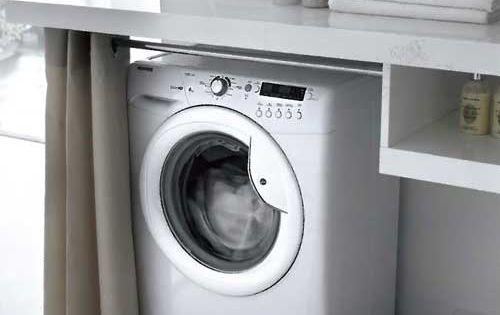 Un elegante locale da adibire a lavanderia arredamento - Asciugatrice colori diversi ...