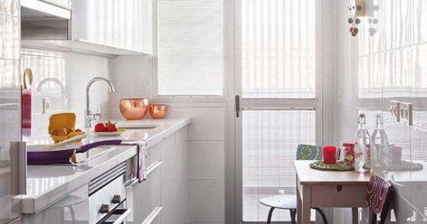 Soluciones para cocinas peque as decoracion - Soluciones para casas pequenas ...