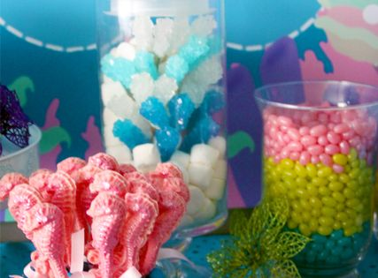 Mermaid Themed Birthday Party - Kara's Party Ideas - The Place for