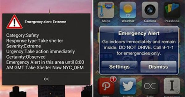 Why The Government Is Sending Emergency Alerts To Your Smartphone Emergency Family Emergency Plan Noaa Weather Radio