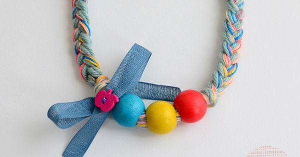 fun DIY (jewelry for kids from Bloesem Wears)