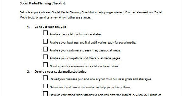 Social Media Action Plan Template u2013 5+ Free Sample, Example - plan of action format
