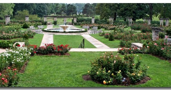 Rose Garden Loose Park In Kansas City This Is Where