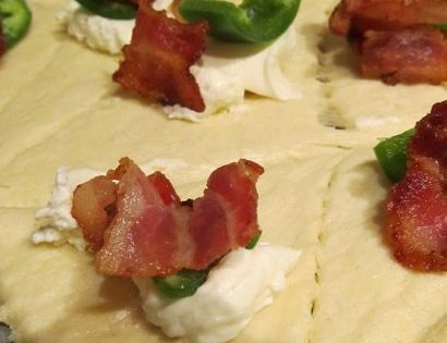 Jalapeno, Bacon and Cream Cheese Bites |