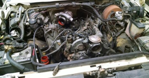 Project For The Day  Ford 7 3 Idi Engine Swap  Replacement
