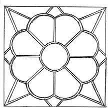 Image Result For Vitrales Sencillos Para Colorear De Figuras