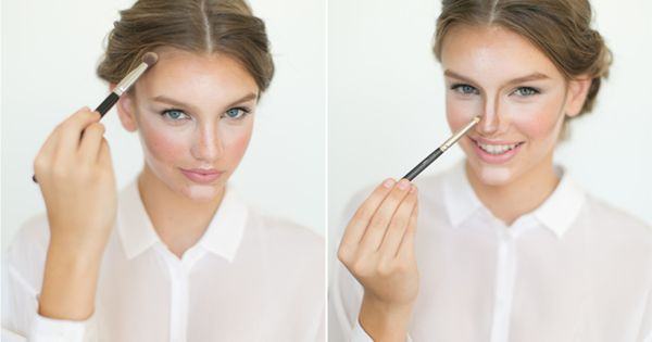 Give contouring a whirl so your face glows beauty hack | Way