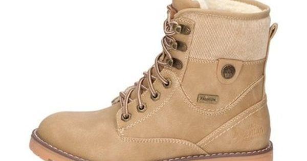 Kremowe Trapery Damskie American Club 1709 1 R37 6534663818 Oficjalne Archiwum Allegro Combat Boots Boots Army Boot