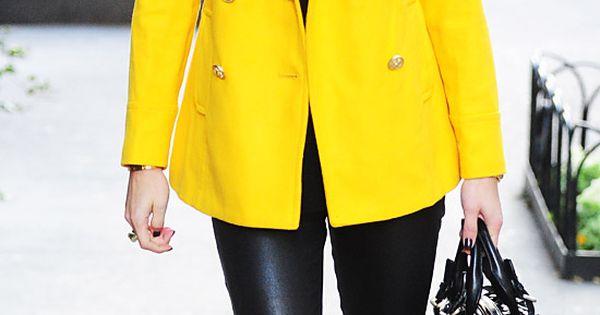 Yellow coat, old navy oliviapalermo