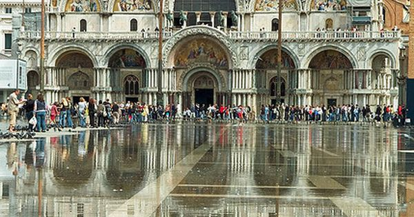 Piazza San Marco (St Mark's Square), is the principal public square of