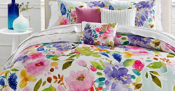 Bluebellgray Wisteria Mint Twin Twin Xl Comforter Set