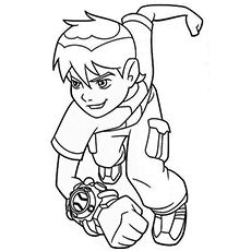 Ben 10 Coloring Pages 20 Free Printable For Little Ones Coloring Pages Cartoon Painting Ben 10