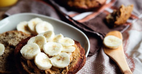 banana muffin top w/ steel cut oats