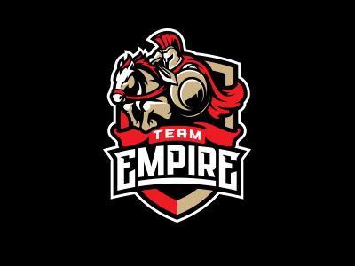 Team Empire Spartan Logo Empire Logo Logo Design