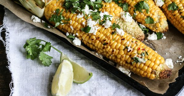 Corn on the Cob with Chilli, Lime & Coriander Butter | #1 Foodie ...