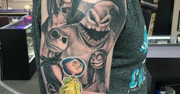 Nightmare Before Christmas/Coraline tattoo | Coraline ...