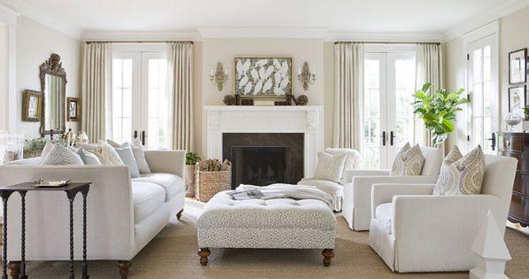 Living Room White on white living room ideas Living room