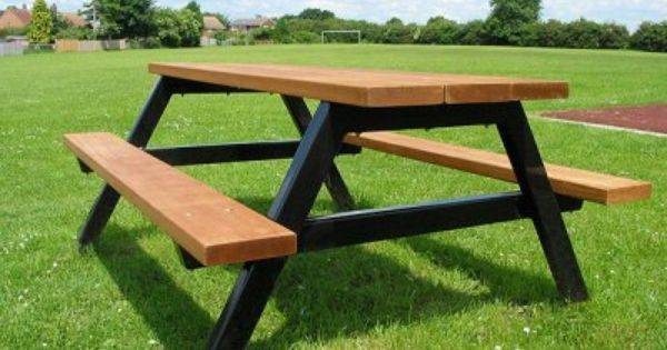 Ploughman steel timber picnic table picnic table for 12 foot picnic table