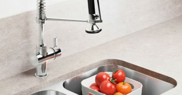 Us Furniture And Home Furnishings Kitchen Faucets Pull Down