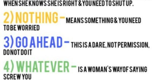 5 deadly terms by a woman. So true
