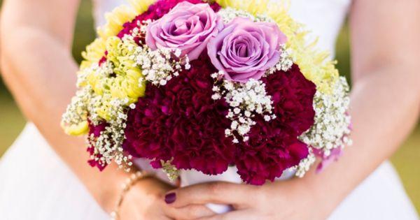 Rustic Autumn DIY Wedding- flowers ny Flowers & Fancies   Purple and