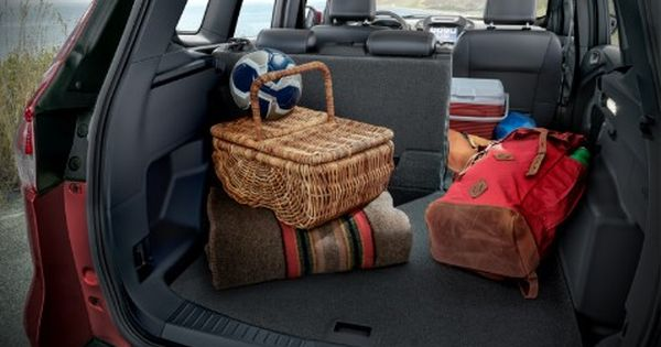 Ford Kuga Spacious Interior Luggage Compartment Floor With A Hidden Compartment Below Auto