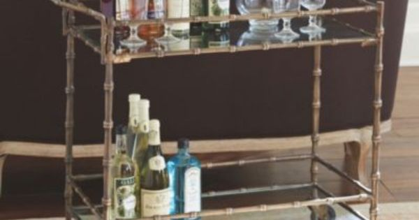 Jill Bar Cart European Inspired Home Furnishings Ballard Designs