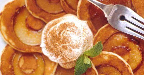 Silver Dollar Pear Pancakes | 요리법 | 갈색, Bisquick 및 ...