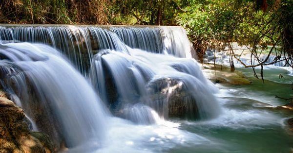 ✯ Kouangxi Waterfall, Luang Prabang, Laos (yes, please.)