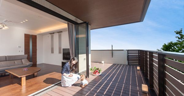 ダイワハウス 注文住宅 大きな開口 空間で想像以上の快適さを実現 二階リビング 広い家 二階