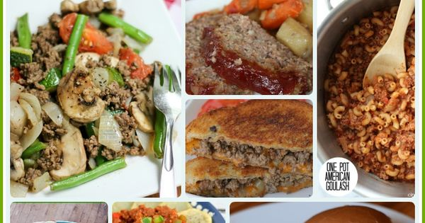 27 easy ground beef dinners recipes perfect for quick for Quick and easy dinner ideas with hamburger meat