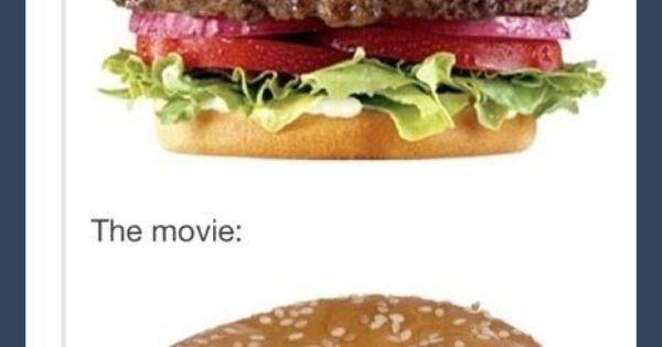 TRUTH!!! The book vs. The movie - haha! So true!