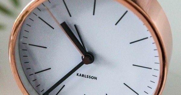 Cool Alarm Clock Dekoartikel Classic Modern Copper Color