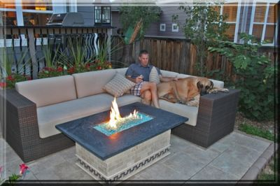 My Ideal Backyard Seating Area Propane Fire Pit Table Diy Gas Fire Pit Outdoor Fire