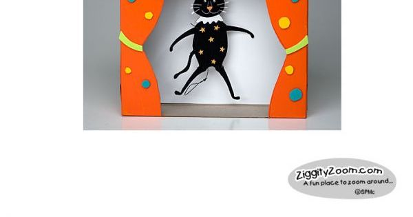 DIY Halloween Craft to Make a Puppet Theatre | DIY and crafts