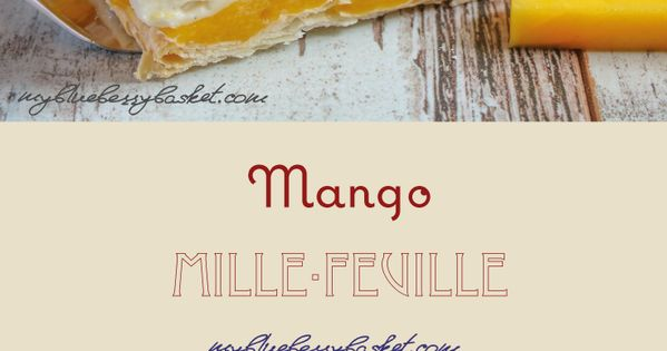Mango puree, Mango and Puff pastries on Pinterest