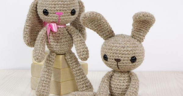 Small Long-Legged Bunny free amigurumi pattern Yarns ...